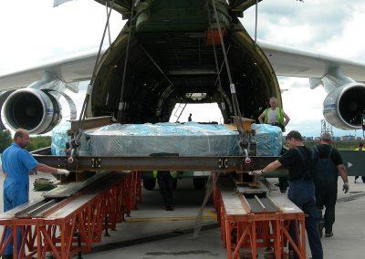 Spedizioni internazionali merci via aerea